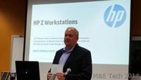 HP Workstations, Displays and R&D Lab Tou 2014